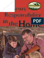 Firearms Responsibility at Home
