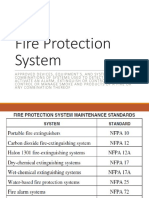 NFPA FIRE PROCTECTION