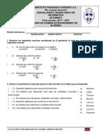 Guía Examen Extraordinario de Álgebra-primer Semestre 2018