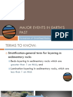(6.0) Major Events in Earth's Past-Formation and Dating of Stratified Rocks