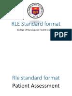 RLE_Standard_format.ppt