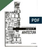 ! Reduced Vais (2008), Programe de Arhitectura