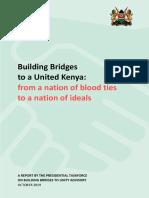 The Building Bridges Initiative Report