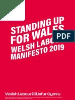 Welsh Labour Manifesto 2019