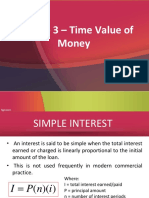Module 3 - Time Value of Money