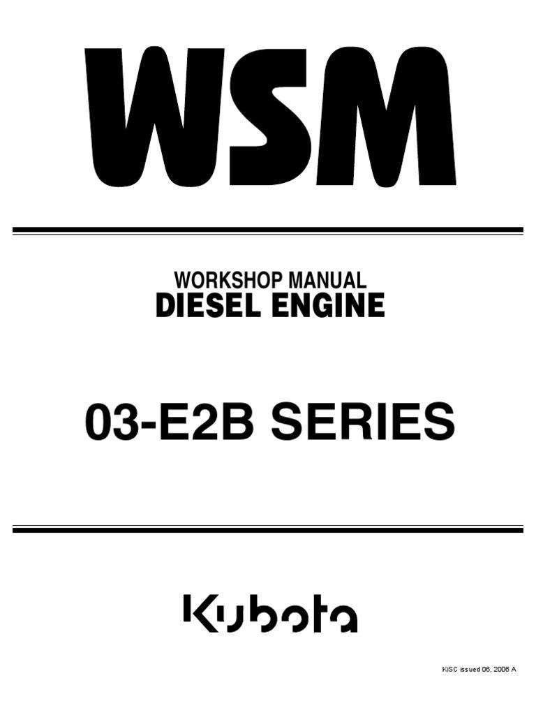 Kubota V2203 Workshop Manual Diesel Engine Motor Oil - Kubota V1902 Wiring Diagram