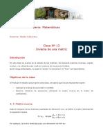 Clase 13 matriz inversa.pdf