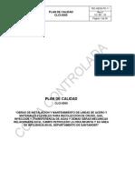 Plan de Calidad CLCI-0560 Rev. 0