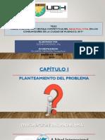 """Diapositivas """"Marketing Digital y Ventaja Competitiva Del Agua Full Vital en Los Consumidores de La Ciudad de Huánuco, 2019."""""""