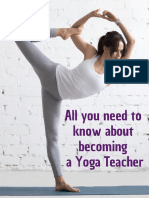 All You Need to Know About Becoming a Yoga Teacher