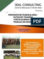 Propuesta de Team Building Outdoor Training
