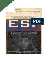 ESP Your Sixth Sense