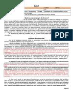 3M PSU 301 Guía 1. Estrategia. Palabras Desconocidas (3p)