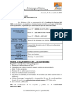 Nota Invitacion Servicio Al Peregrino 2019