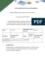 Laura Reyes Informe Evaluacion Sensorial