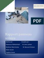 Panneaux Solaires Photovoltaiques mohammed hakmaoui