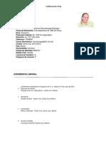 Curriculum Vitae CRB