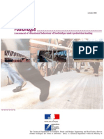 Footbridges Assessment of vibrational behaviour of footbridges under pedestrian loading