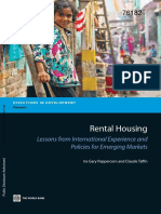 Rental Housing Lessons From International Experience and Policies for Emerging Market