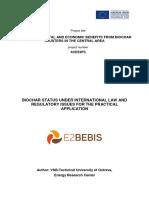 E2BEBIS Biochar Policy