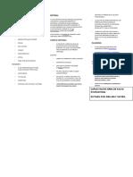 Diptico de Virus Mayaro,Difteria y Paludismo