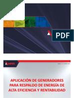 Aplicacion de generadores