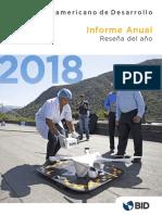 Informe Anual Del Banco Interamericano de Desarrollo 2018
