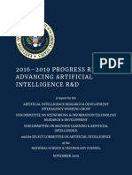 2016–2019 Progress Report