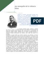 El Estado como monopolio de la violencia según Max Weber.docx