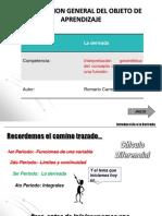 La derivada - Romario Carroll.pptx