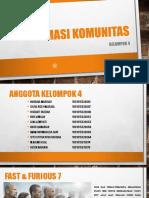 Kel.4 Farmasi Komunitas Review Film Fast & Furious 7