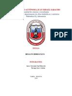 Informe de Resalto Hidrualico
