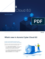What's New - Cyber Cloud 8.0