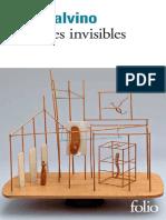 Les Villes Invisibles Calvino Italo