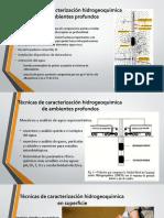Técnicas de Caracterización Hidrogeoquimica