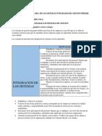 Actividad Suplementaria de Los Sistemas Integrados de Gestion Primer Bimestre