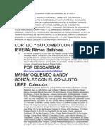 DE LA GRABACION TRES GRANDE CUBA.docx