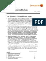 Swedbank's Global Economic Outlook, 2010 August