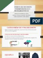 CRITERIOS DE DECISIÓN DETERMINÍSITICOS Y PROBABILÍSTICOS.pptx