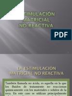 Estimulación Matricial de Pozos