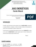 Sistemas Energético_ Carvão Mineral - Infraestrutura I