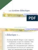 système didactique
