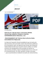 PROCEDIMIENTO DE TACHA  SOLO APLICA PARA DOCUMENTOS PÚBLICOS