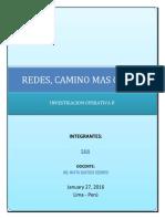 Redes Camino Mas Corto Investigacion Ope