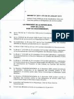 Décret 2011.478 Code Éthique