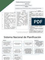 Sistema Nacional de Planificación