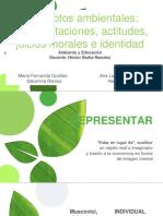 Conceptos Ambientales Representaciones, Actitudes, Juicios Morales e Identidad