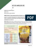 Informe #1 Pulpa de Piña
