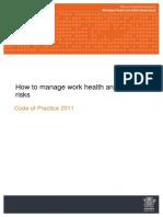 Manage WHS Risks COP 2011