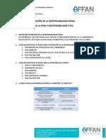 9. Extinción de La Responsabilidad Penal y de La Pena y Responsabilidad Civil